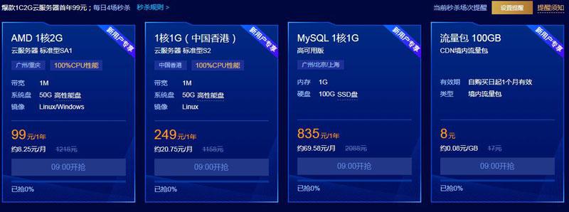 腾讯云2020云采购优惠活动 – 云服务器3年299元/香港服务器年249元